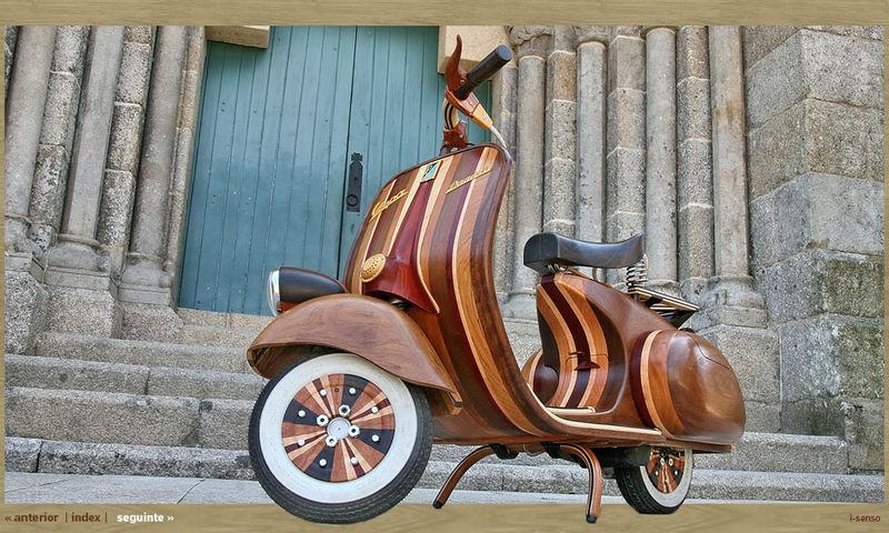 Wooden vespa3