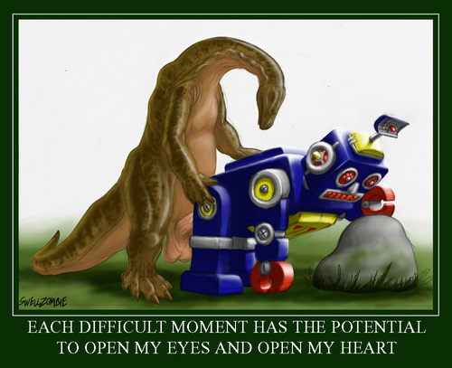 Dinosaurs fucking robots2